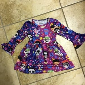 Disney Pixar Coco Dress Size 6-12 month